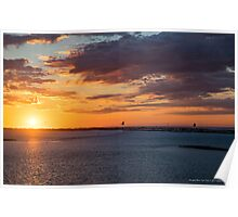 Sunrise - A New Day Has Come | Hampton Bays, New York Poster