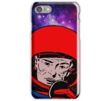 spaceman in space iPhone Case/Skin