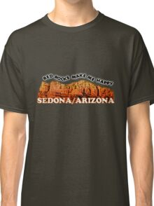 Red Rocks make me Happy Classic T-Shirt