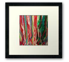 Ribbon Wild Framed Print
