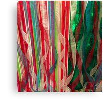 Ribbon Wild Canvas Print