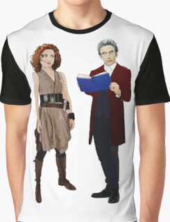 The Doctor and River Song Graphic T-Shirt