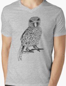 Kakapo - King of the Parrots Mens V-Neck T-Shirt
