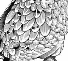 Kakapo - King of the Parrots Sticker