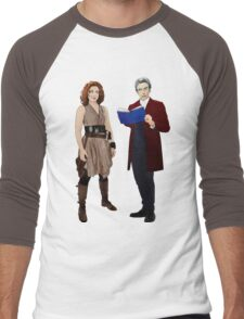 12th Doctor and River Song Men's Baseball ¾ T-Shirt
