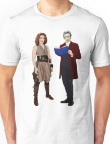 12th Doctor and River Song Unisex T-Shirt
