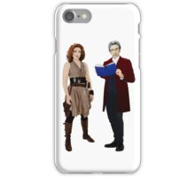 The Doctor and River Song iPhone Case/Skin