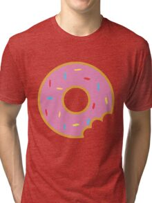 Donut with Sprinkles Tri-blend T-Shirt