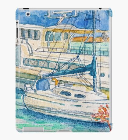 sunday ice tea iPad Case/Skin