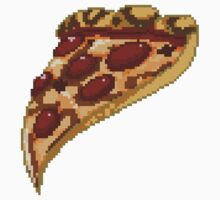 Pixel Pizza, No Anchovies.  by M47T3Y