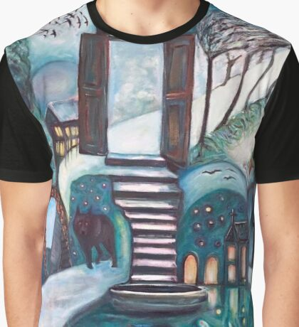 The Path of Infinite Possibilities Graphic T-Shirt