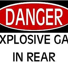 Danger Explosive Gas in Rear by MuleSense