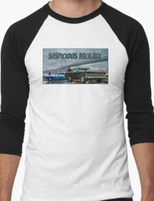 Suspicious Package Men's Baseball ¾ T-Shirt