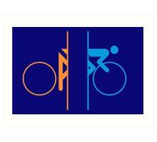 Portal Bike Art Print