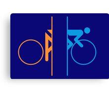 Portal Bike Canvas Print