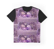The Purple Easter Basket Graphic T-Shirt