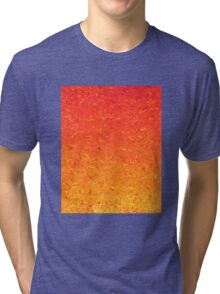 Orange Gradient Tri-blend T-Shirt