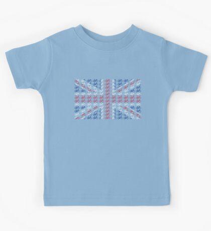 Bike Flag United Kingdom (Small) Kids Tee
