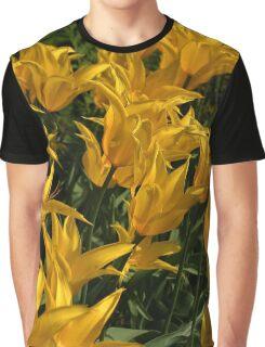 Yellow Tulips .. Graphic T-Shirt