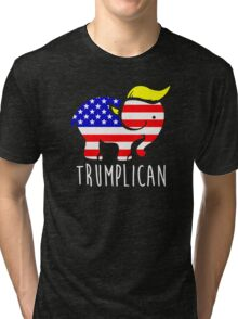 Trumplican Tri-blend T-Shirt