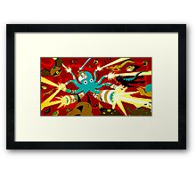 Cyborg Octopus Framed Print
