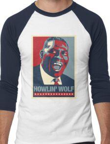 The Howlin President Men's Baseball ¾ T-Shirt