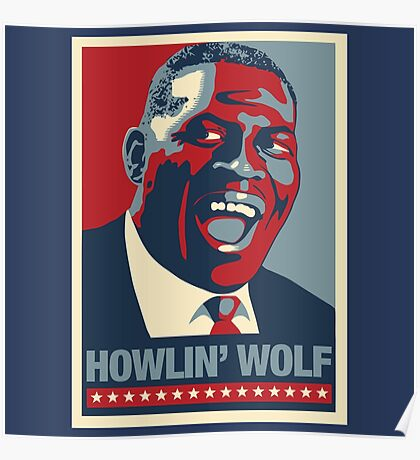 The Howlin President Poster