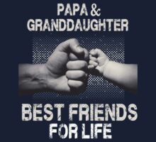Papa & Daughter- Best friends for life Baby Tee