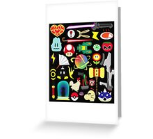 Choose Your Weapon! (SSB Items) Greeting Card
