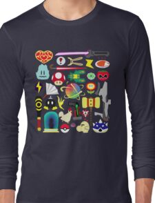 Choose Your Weapon! (SSB Items) Long Sleeve T-Shirt
