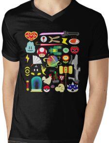 Choose Your Weapon! (SSB Items) Mens V-Neck T-Shirt