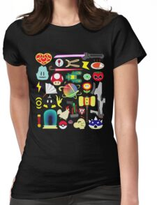 Choose Your Weapon! (SSB Items) Womens Fitted T-Shirt