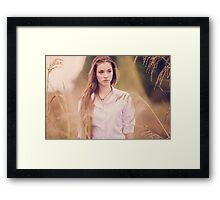 Gorgeous beautiful woman  Framed Print