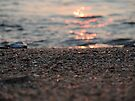 Sand on fire, sunset on the beach by Themis