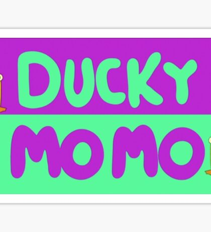 Ducky Momo  Sticker