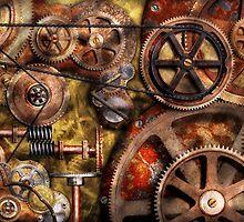 Steampunk - Gears - Inner Workings by Mike  Savad