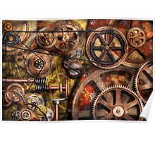 Steampunk - Gears - Inner Workings Poster