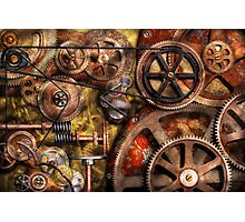 Steampunk - Gears - Inner Workings Photographic Print