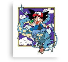 Dragon Pokemon Canvas Print