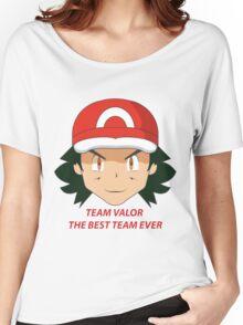 POKEMON TEAM VALOR - THE BEST TEAM EVER  Women's Relaxed Fit T-Shirt