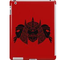 Foot Clan (black) iPad Case/Skin