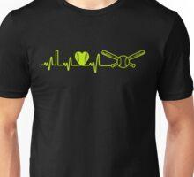 Softball Heartbeat Unisex T-Shirt