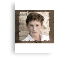 Eddie Redmayne Canvas Print