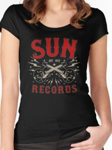 Sparkling Sun Women's Fitted Scoop T-Shirt