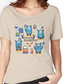 Forest monsters Women's Relaxed Fit T-Shirt