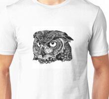 Owl face Unisex T-Shirt
