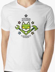 V.A. Maintenance Division Green Mens V-Neck T-Shirt