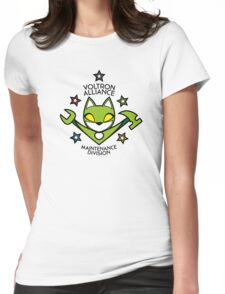 V.A. Maintenance Division Green Womens Fitted T-Shirt