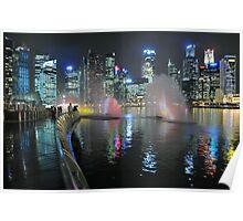 Marina Bay, Singapore. (2) Poster