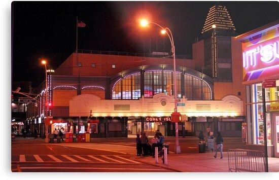 Coney Island train station by henuly1